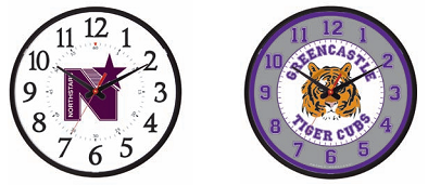 Custom clock dial samples